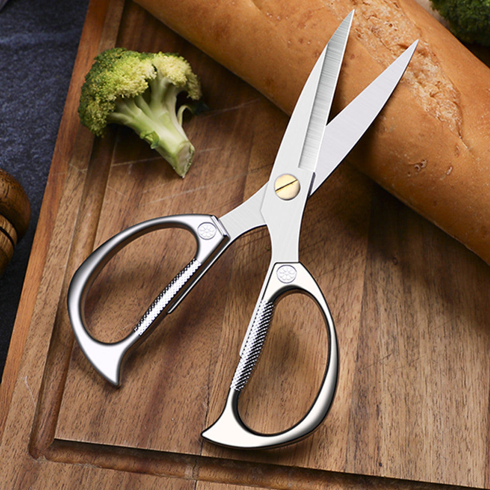 HYTX 7.5 Inch Stainless Steel Kitchen Scissors/Shears for Meat Poultry Chicken