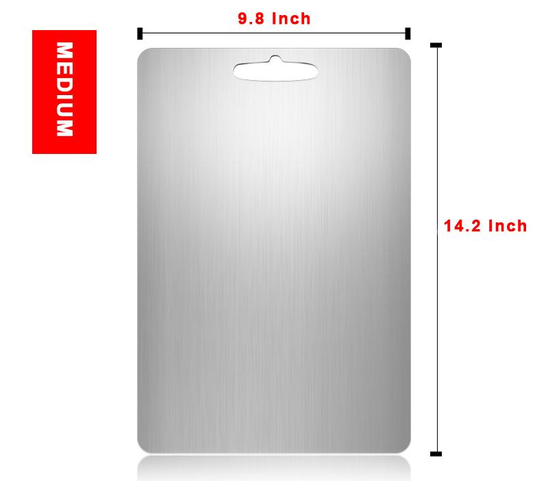 Stainless Steel Cutting Board (Medium)