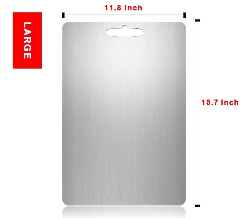Stainless Steel Cutting Board (Large)