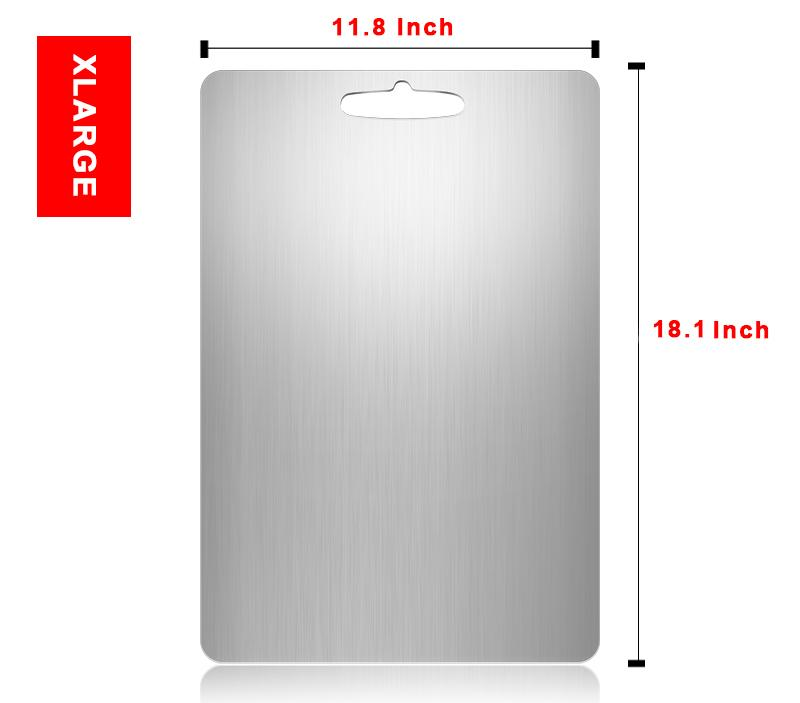Stainless Steel Cutting Board (X-Large)