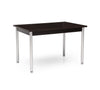Red Apple Dining Table Black Oak Finish
