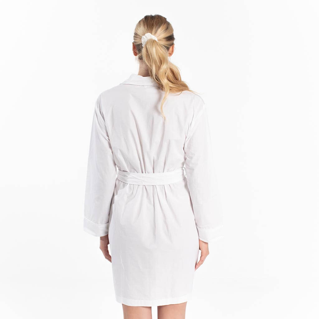 Cotton Robe - White