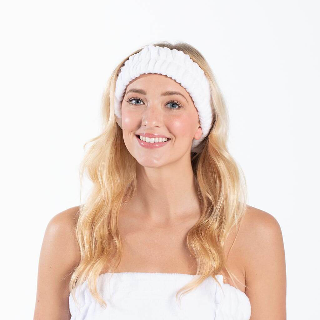 Spa Headband - White