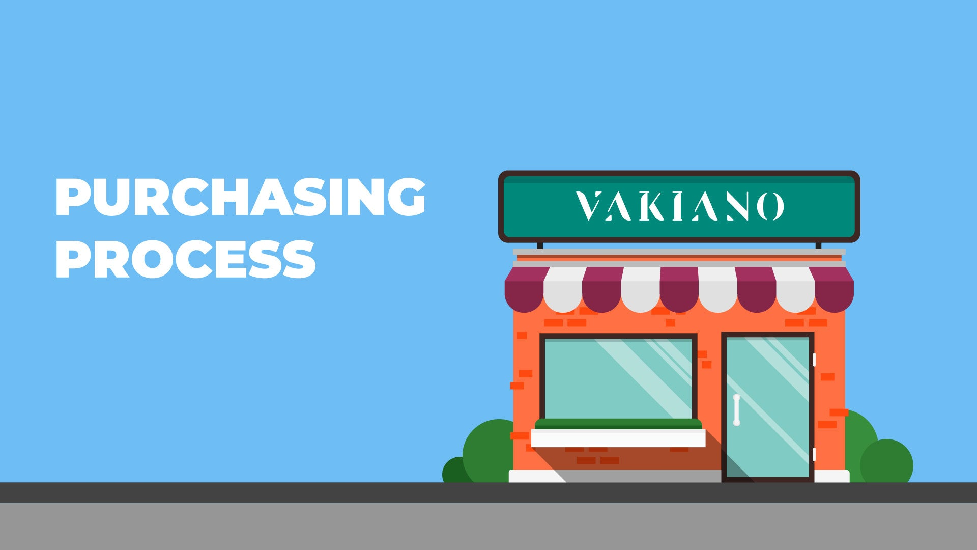 vakiano purchasing process