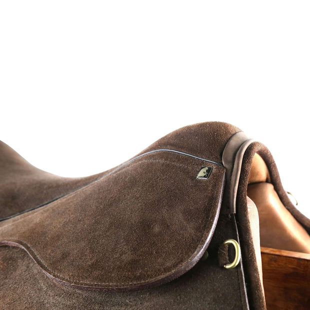 Polo Saddle - Suede leather - Vakiano Artisans