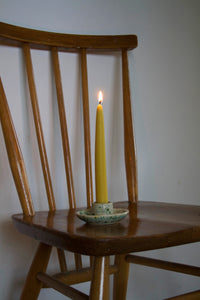 Pair of The End of the Avenue Beeswax Tapered Candles