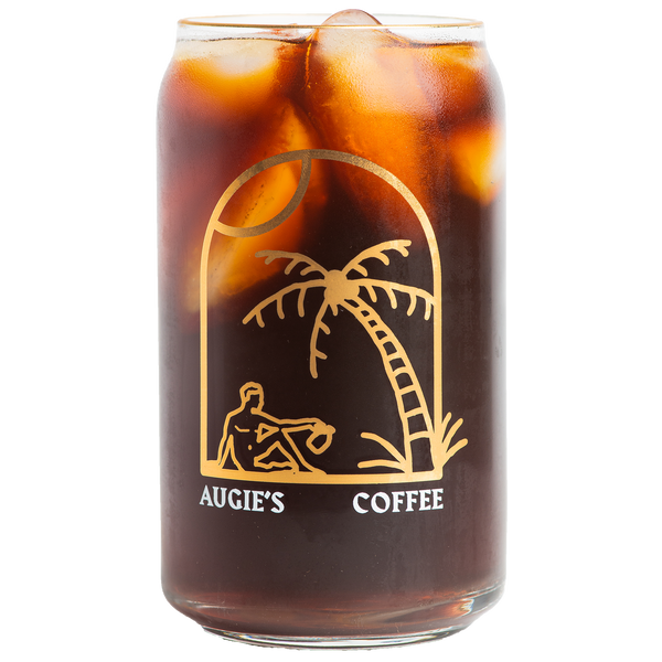 Cold Brew Drinker Glass Can