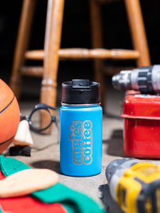 12oz Hydroflask with Vertical Logo