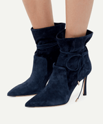 LEYTH BOOT - NAVY BLUE - 85