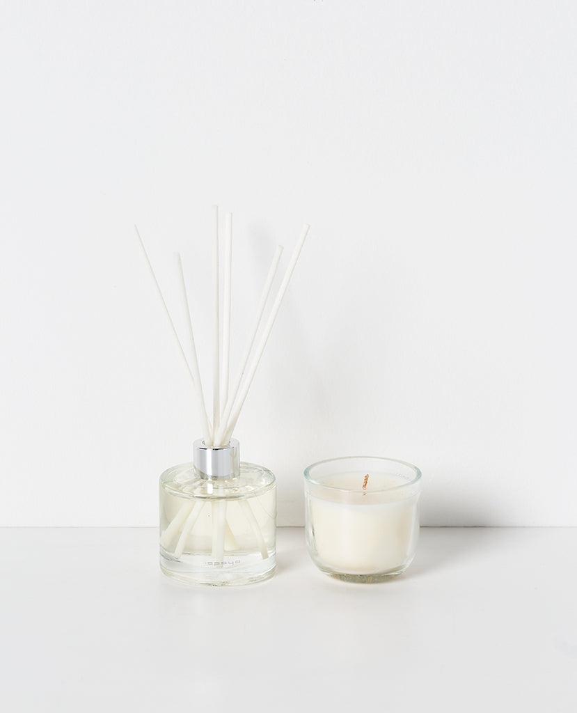 ZERO˚ CANDLE & DIFFUSER SET - WHITE