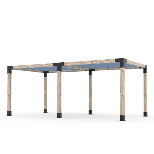 Toja Grid Double Pergola _10x20_denim