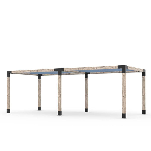Toja Grid Double Pergola _10x24_denim
