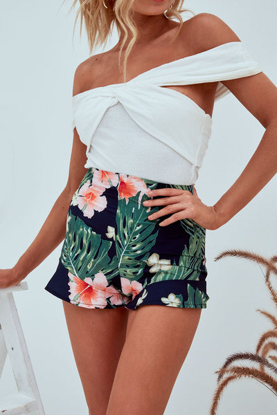 ABBA Floral Shorts
