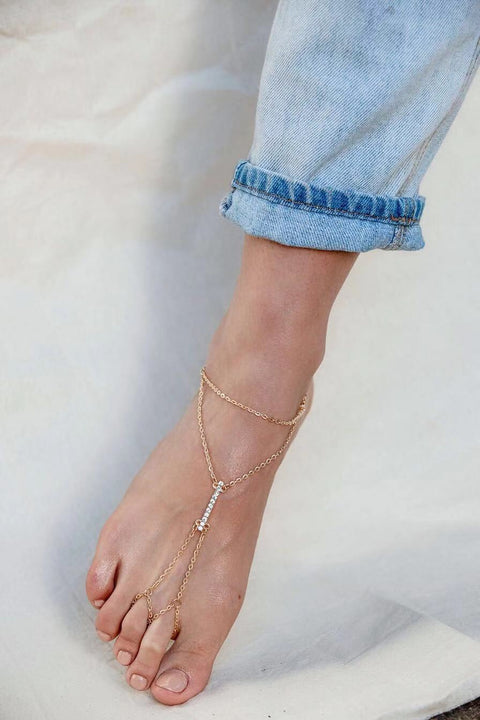 Abigail Anklet - The Half Clothing