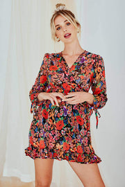 Aurora Long Sleeve Floral Dress
