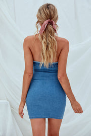 Belle Denim Mini Dress