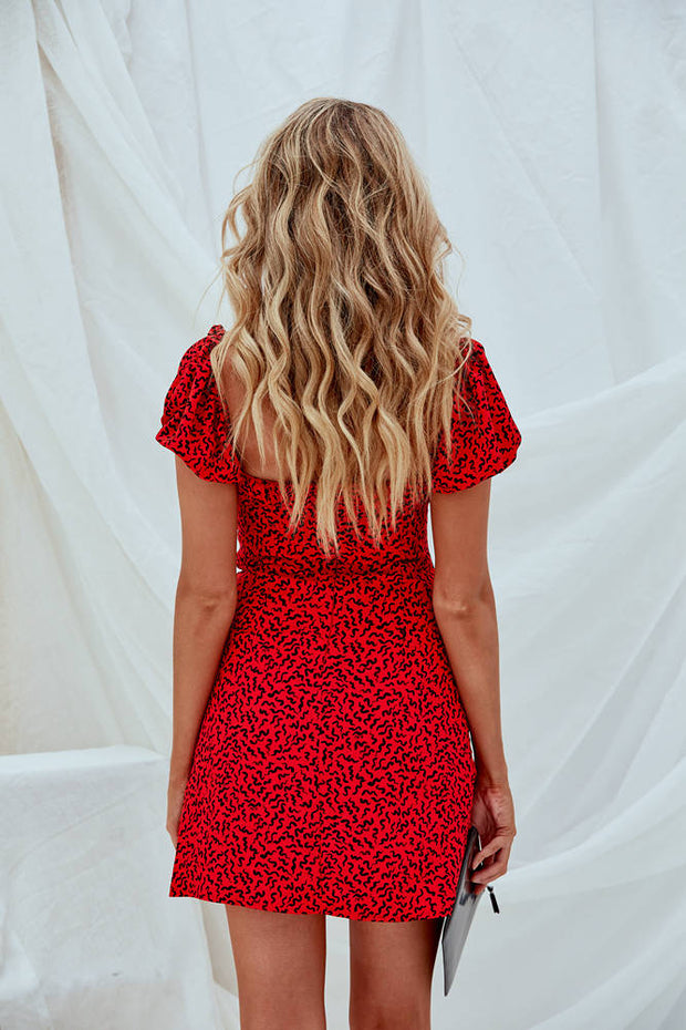 Bonita Mini Dress Red