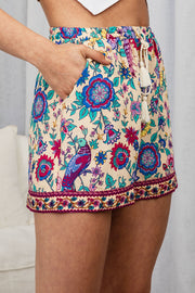 Boo Hoo Floral Shorts - The Half Clothing