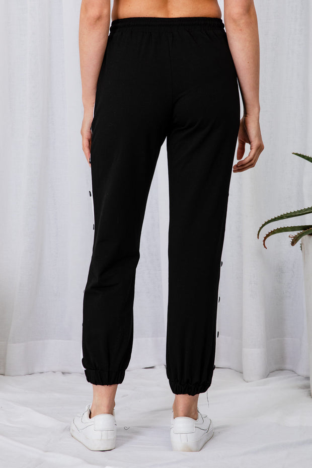 Brandon Black Trousers - The Half Clothing