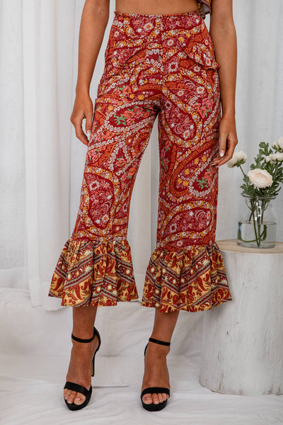 Christopher Wants Me Floral Pants - The Half Clothing