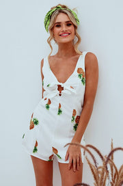 Fall in Fall Playsuit