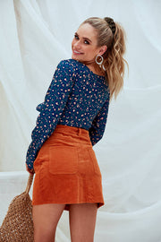 Gemma's Skirt Orange