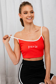 Paris Paris Singlet - The Half Clothing