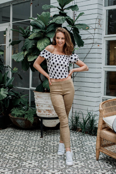 Helia Dotty Top - The Half Clothing
