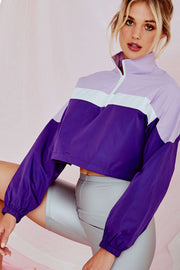 Lexy Grace Crop Top Purple