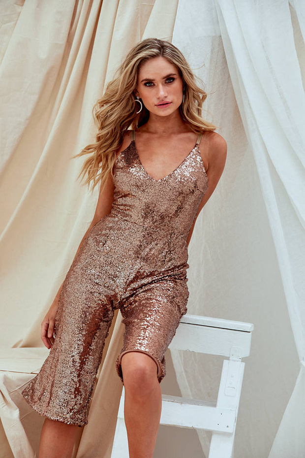 Lindsey Wonder Sequin Jumpsuit