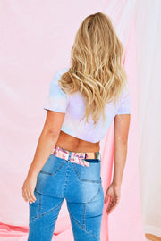 Liv Tide Dye Crop Top