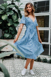 Minnie Winnie In Light Blue Dress - The Half Boutique