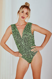 Mia L Bodysuit In Green