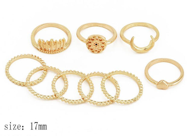 Multi Ring Set - The Half Clothing