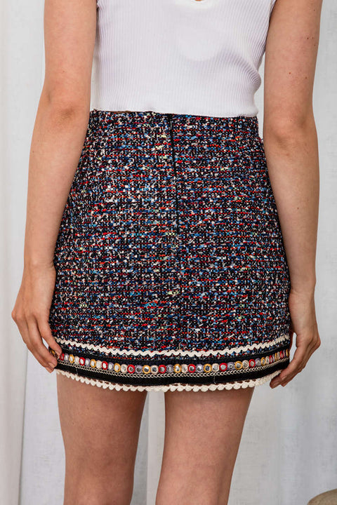 Naz Mini Skirt - The Half Clothing