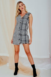 No 5 Tweed Mini Dress