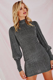 Shoot Me Mini Dress Grey