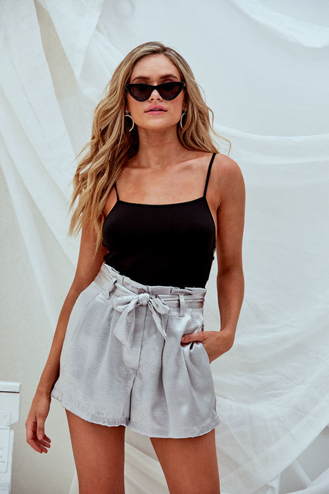 Silver Fox High Waist Short