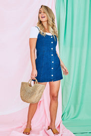 Stella Denim Mini Dress