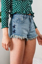 Stunning Star Shorts - The Half Clothing