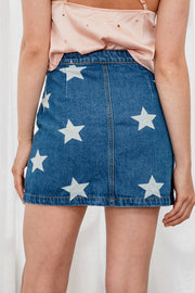 Twinkle Twinkle Denim Skirt - The Half Clothing