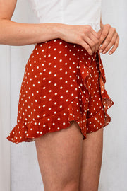When I Met You Polka Dot Shorts - The Half Clothing
