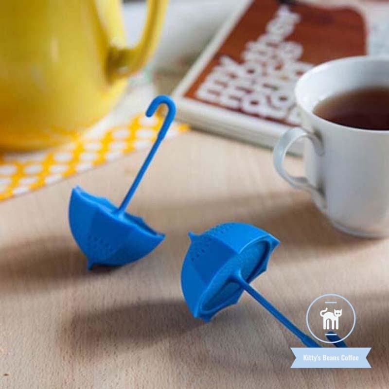 Silicone Umbrella Shaped Tea Infuser - Kitty's Beans Coffee, Tea & Kitchen