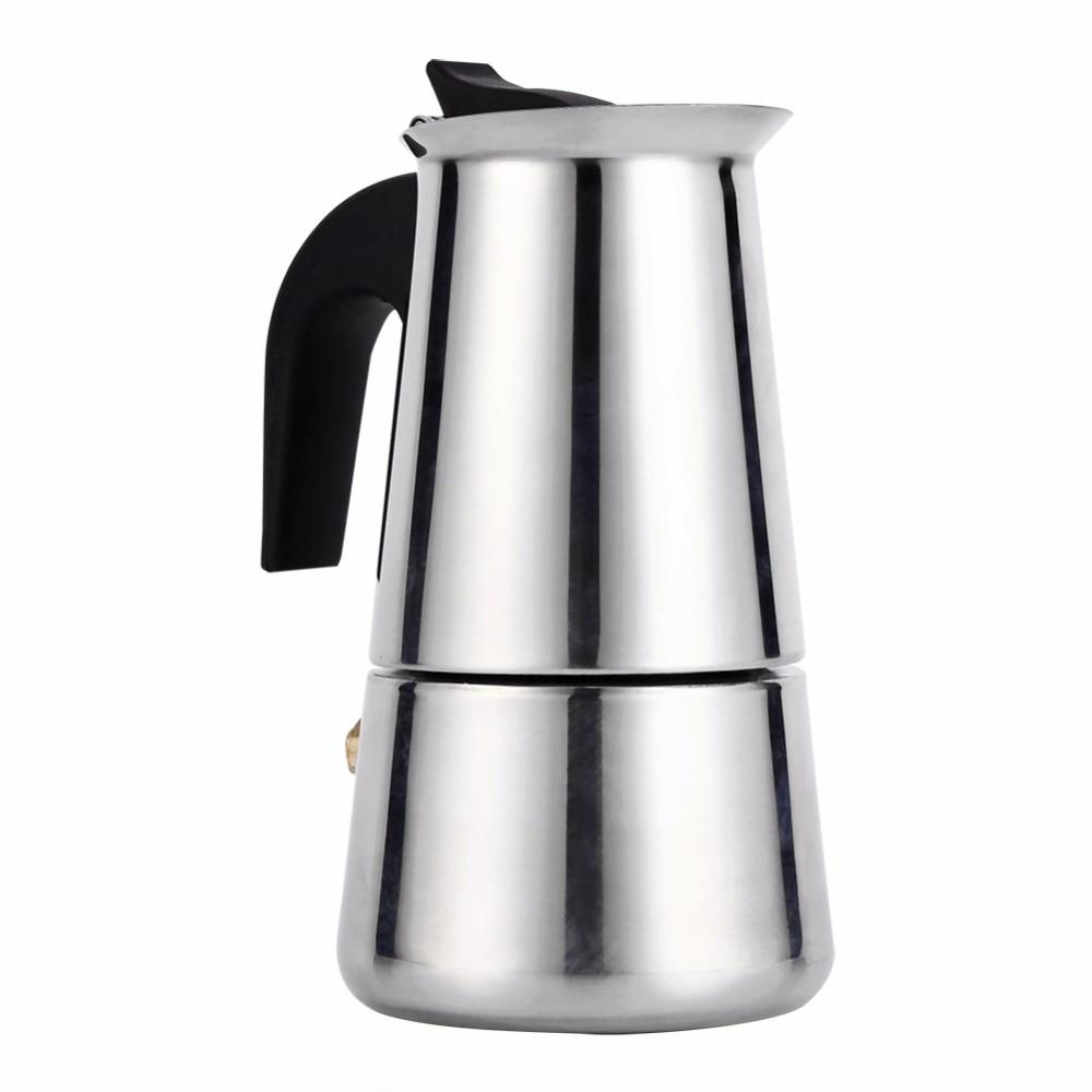 Stovetop Espresso Pot - Kitty's Beans Coffee, Tea & Kitchen