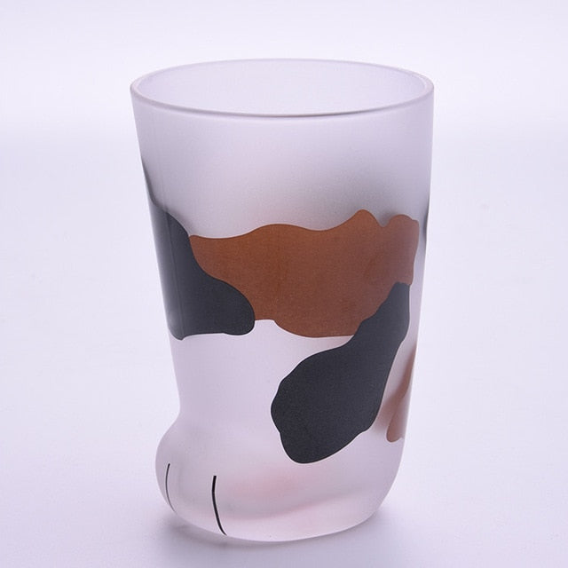 Cat Paw Drinking Glasses - Kitty's Beans Coffee, Tea & Kitchen