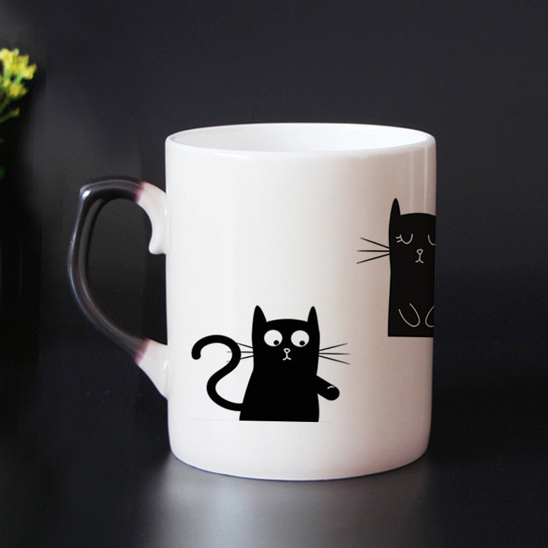 """You are Purrfect"" Color Revealing Mug - Kitty's Beans Coffee, Tea & Kitchen"