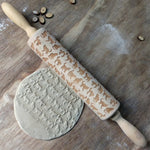 Cat Embossed Rolling Pin
