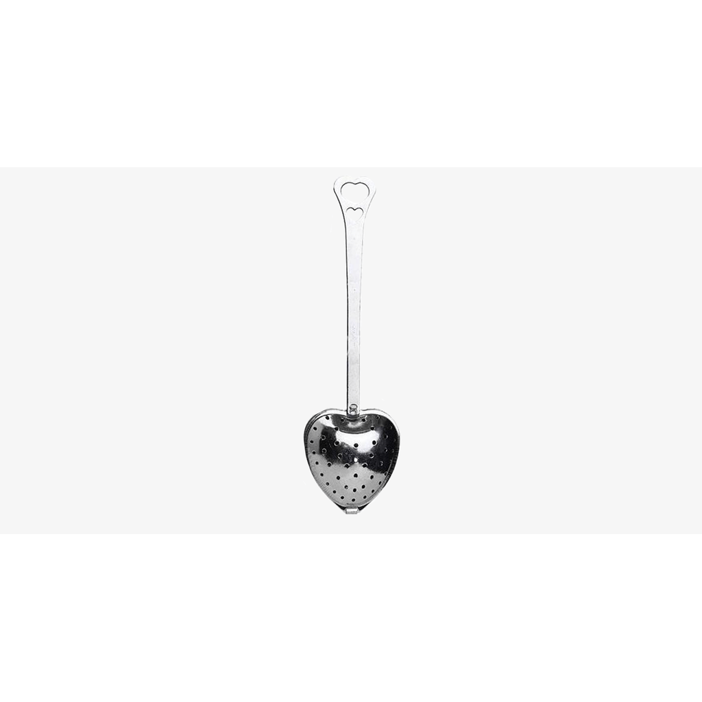 Heart Shaped Stainless Steel Tea Infuser Spoon (Shipped from USA) - Kitty's Beans Coffee, Tea & Kitchen