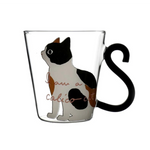 Transparent Cat Coffee Mug - Kitty's Beans Coffee, Tea & Kitchen