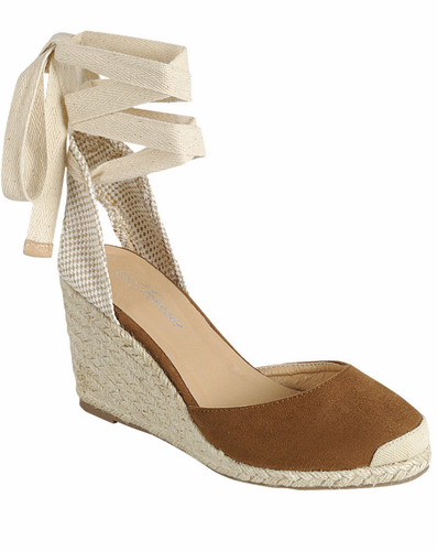 Jess Wedges  - TAN